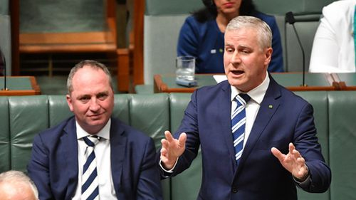 Mr McCormack took over leadership of the Nationals from Barnaby Joyce. (AAP)