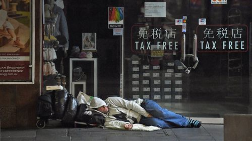 There are more than 100,000 people experiencing homelessness in Australia.