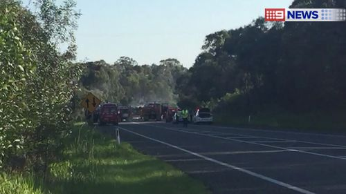 One dead after crash at Pacific Highway, Woodburn