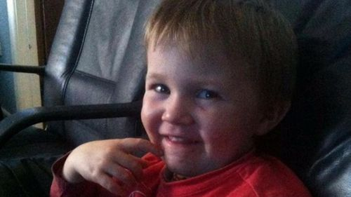 Blake was three when he died. Picture: 9NEWS