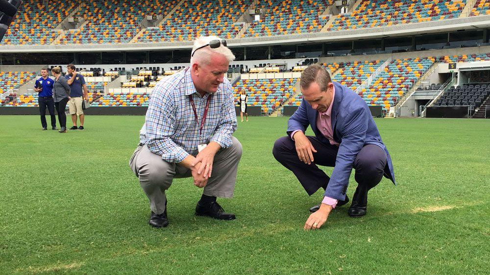 Brisbane Lions' Jonathan Brown slams Gabba curator over AFLW grand final shift
