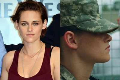<b>US$12 million</b><br/><br/>Kristen Stewart's earnings have dropped by $10 million since last year. Sorry K-Stew there's no more profitable <i>Twilight</i> flicks in the works! <br/><br/>K-Stew will star next as a soldier in <i>Camp X-Ray</i> and alongside Julianne Moore in <i>Still Alice</i>.<br/><br/>Left: Getty. Right: <i>Camp X-Ray</i> / Gotham Group.