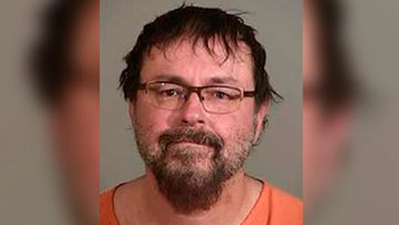 "This April 20, 2017, file photo released by the Siskiyou County Sheriff's Office shows Tad Cummins. Cummins, an ex-Tennessee teacher who fled with a 15-year-old student in 2017 and set off a 39-day nationwide manhunt has asked to change his plea in federal court. A document filed by his lawyer Thursday, March 29, 2018, in federal court in Nashville says Cummins wants to change his previous not-guilty plea. It says he ""would like to enter a plea of guilty."" (Siskiyou County Sheriff's Office via AP, File)"