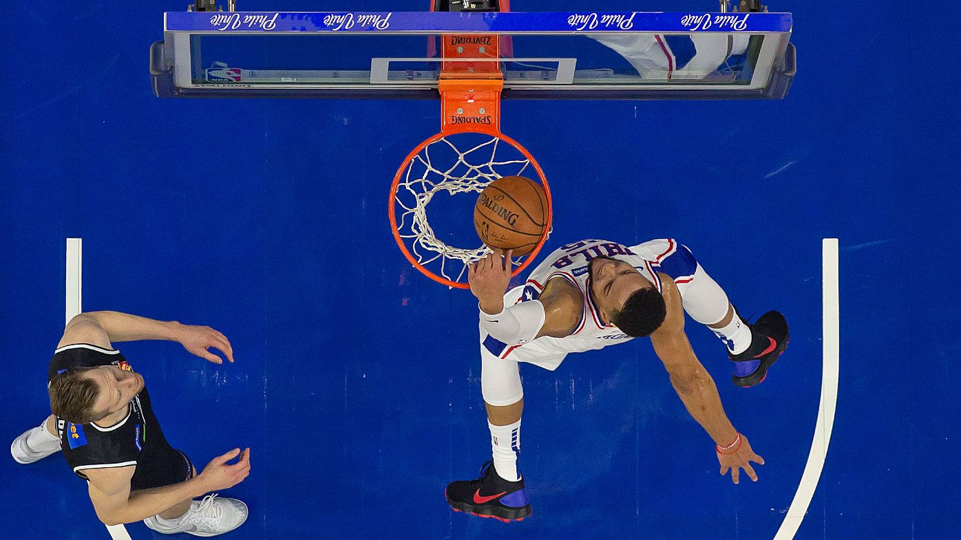 Ben Simmons puts on a show for Philadelphia 76ers against Melbourne United in pre-season trial