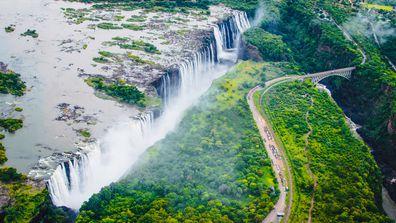 4. Victoria Falls, Zambia