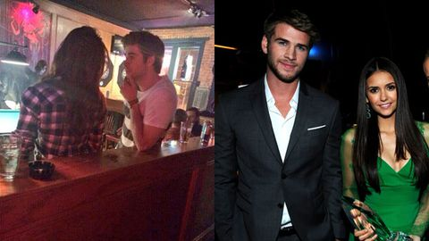 Liam Hemsworth spotted kissing <i>Vampire Diaries</i> star Nina Dobrev