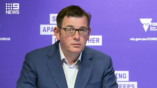 Daniel Andrews on 26 September 2020