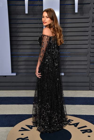 Sofia Vergara in Ralph & Russo at the 2018 Vanity Fair Oscars After Party