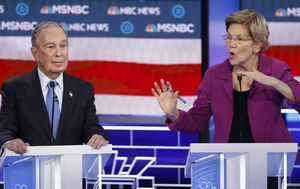 Michael Bloomberg torn to shreds in Democratic debate by Elizabeth Warren, Joe Biden