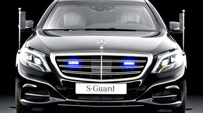 Considered to be one of the most highly armoured cars in the world, they are bullet proof, bomb-proof and powered by huge V12 engines. The Abbott government will also supply specially trained drivers for the event.