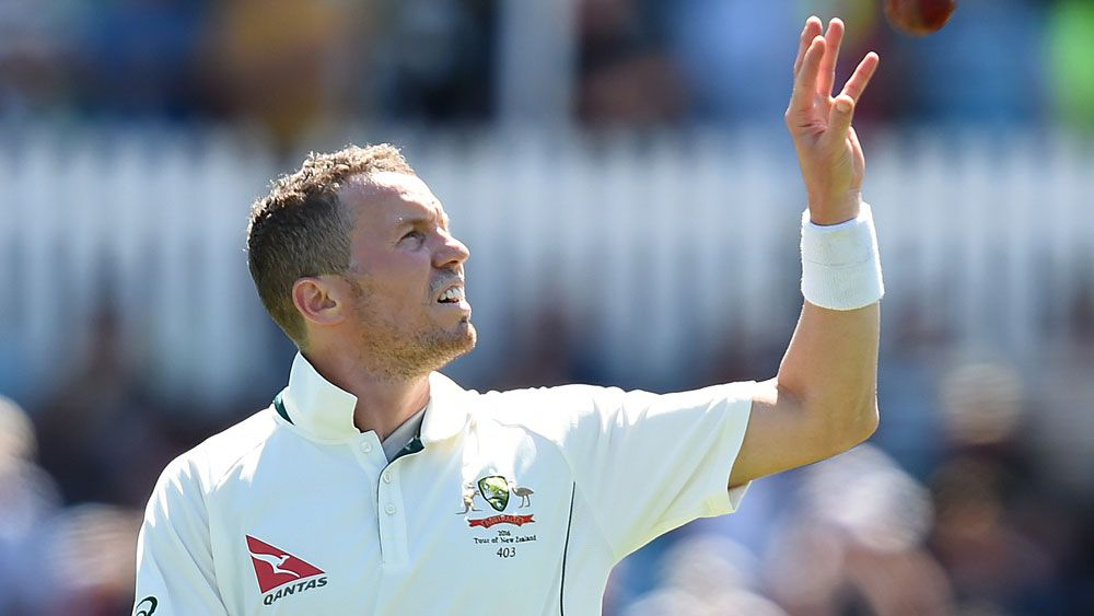 Peter Siddle. (AAP)