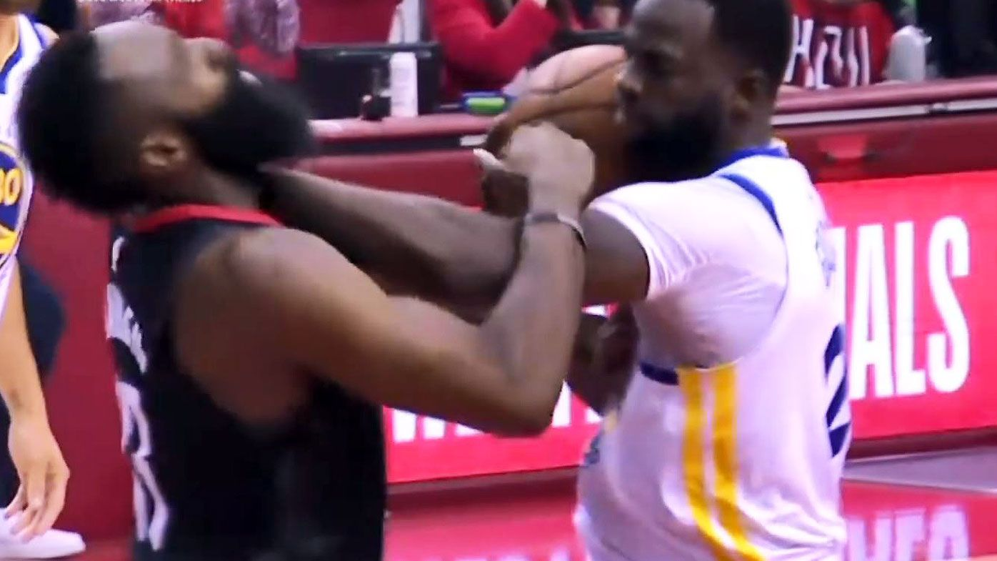 Golden State Warriors shoot down Houston Rockets in game one of Western Conference finals