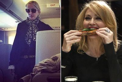 In 2010, the Material Girl booked out a full row of first-class seats on a Virgin Atlantic flight so her private chef could cook up her very specific macrobiotic food requests (vegies, fish, no dairy, strictly no processed food). It was only a seven-hour jaunt from New York to London! While the cost of her extravagance is unknown, it definitely would've been in the five figures.<br/><br/>Images: Instagram/Getty