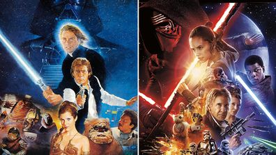 Star Wars VI: Return of the Jedi (1983) - Star Wars VII: The Force Awakens (2015)