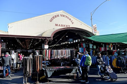 The markets are a tourist hot-spot. Picture: AAP