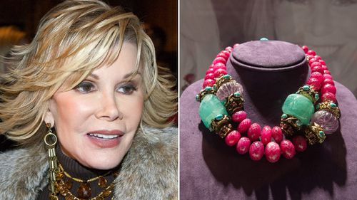 'Glitz, glam and style' up for grabs at auction of Joan Rivers' personal effects