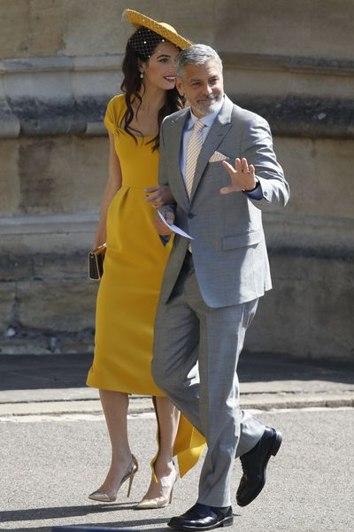 <p><strong>Photo of Amal and George Clooney at the Royal wedding</strong></p> <p>If there&rsquo;s ever a wedding invite you want, it&rsquo;s this one.</p> <p>Price Harry and Meghan Markle&rsquo;s wedding is set to be the most-watched wedding in history.</p> <p>And the fact that all the collective world&rsquo;s eyes are on the guests, hasn&rsquo;t been lost on them.</p> <p>All of those invited upped the style stakes and made sure there was no shortage of sartorial standouts, case in point, Amal and George Clooney.</p> <p>Click through to take a look at the most talked-about celeb looks&hellip;<br /> <br /> </p>