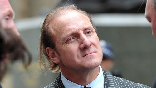 Gary Ablett senior attends the State funeral for Jim Stynes at St Paul's Cathedral in Melbourne on March 27, 2012. (AAP)