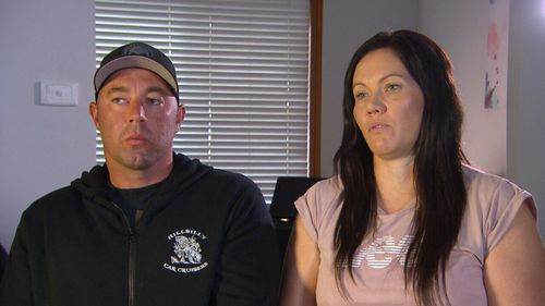 Lisa and Mark Hession were visiting Melbourne when they were set upon by a group of youths.