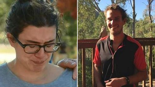 The wife of missing man Taddeo Haigh believes he is lost or injured. (9NEWS)