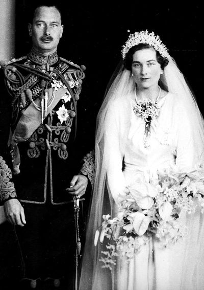 Princess Alice, Duchess of Gloucester, married 1935