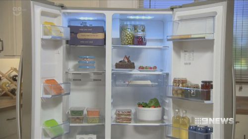 Hisense's side-by-side fridge was also voted a winner. (9NEWS)