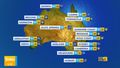 Wet weekend ahead of parts of NSW and Queensland