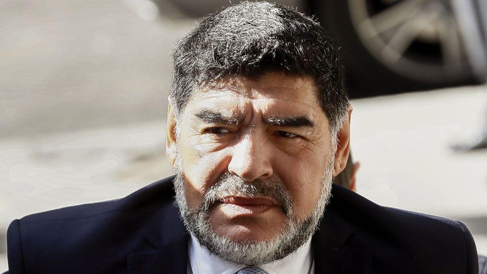 Maradona involved in Madrid incident