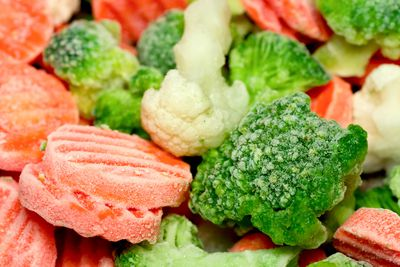 Embrace frozen veggies