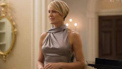<p>House Of Cards 2013-Present</p> <p>No TV character in 2017 defines power dressing better thanHouse of Cards' Claire Underwood (played by Robin Wright). Dolce & Gabbana,Michael Kors, Ralph Lauren, Dolce and Derek Lam are just some of the designers that seen their designs grace the fictional Underwood White House.</p> <p> </p> <p> </p> <p></p>