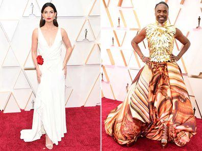 Oscars red carpet arrivals.