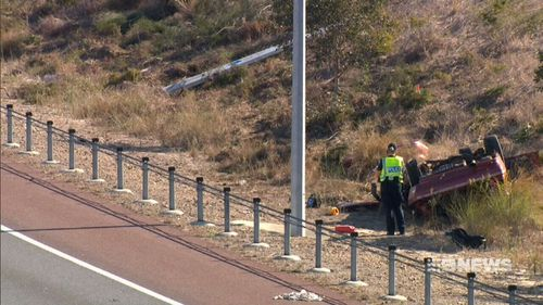 Crash investigators are attempting to work out what happened. (9NEWS)