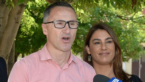 Lidia Thorpe (right) will replace former leader Richard Di Natale in the Senate.