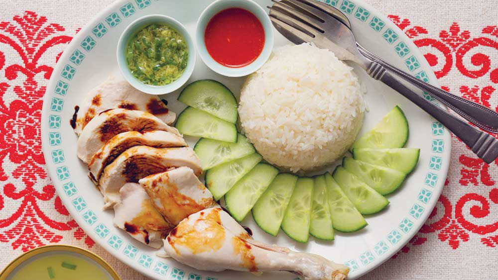 Poh's Hainanese chicken rice
