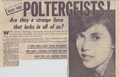 Word of the Battersea poltergeist spread and it became a major news story.