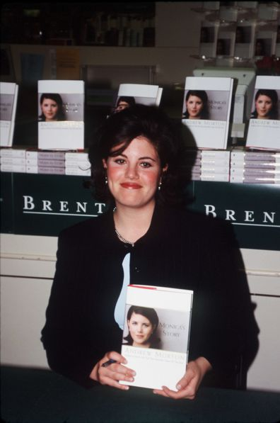 Monica Lewinsky, book signing, Bill Clinton