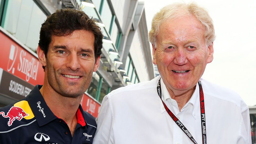 Webber, F1 world pay tribute to Ron Walker
