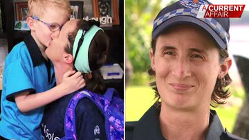 Cop mum's moving take on her children's disease