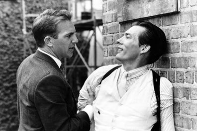 Kevin Costner and Billy Drago in The Untouchables