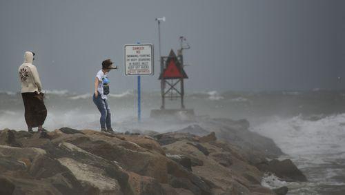Hurricane Hermine strikes in 2016.