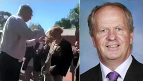 """Deputy principal Rohan """"Brownie"""" Browne was handed back his job after initially being fired after being filmed cutting a student's hair."""