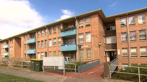 47-year-old Charlie Grace was found dead in his unit in Chifley last night. (9NEWS)