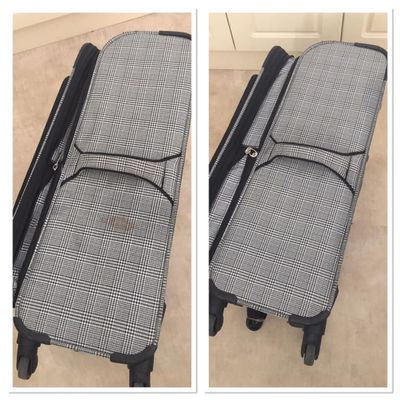 Suitcase - before & after