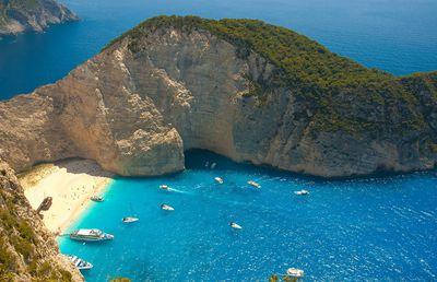 5. Navagio Beach, Zakynthos, Greece - 403 pictures per metre