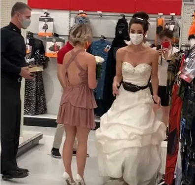 Bride confronts fiance demands he marry her