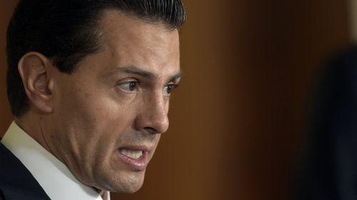 Mexico's president Enrique Pena Nieto. (AAP)