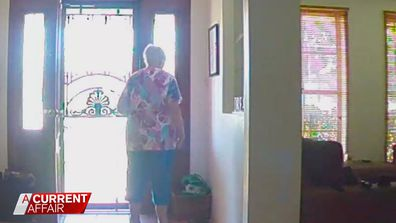 Daughter's heartbreaking discovery after installing CCTV for elderly mum
