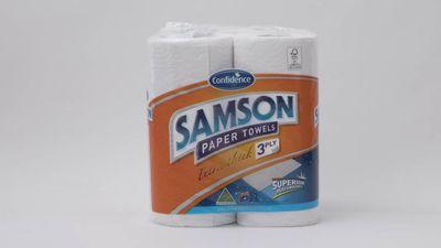 #8 Aldi Confidence Samson Paper Towels