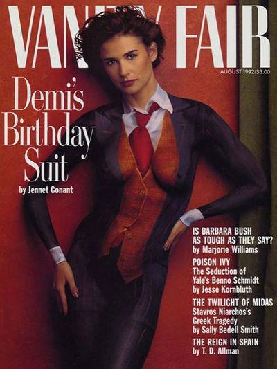 <p>Demi Moore, 1992</p>