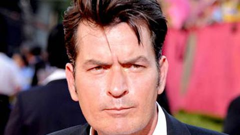 """Charlie Sheen returns to work after """"overblown"""" hotel rampage"""
